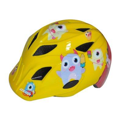 Cykelhjälm junior Olli gul