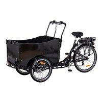 Lådcykel med svart låda - 250W