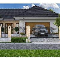 Staket Classical 7 - Smidesstaket för hem & trädgård