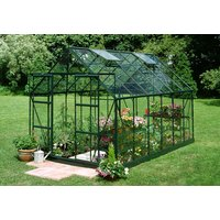 Växthus Magnum - 9,9 m² Grönt med härdat glas