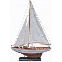 Modellbåt Concordia segelbåt - vit