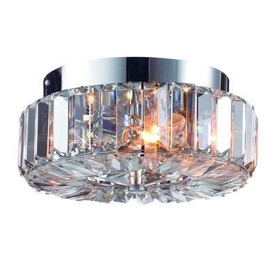 Ullevallen Taklampa - Krom/Kristall