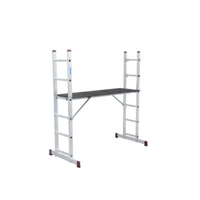 Kombi-/ multistege - 2x6 steg (med arbetsplattform)