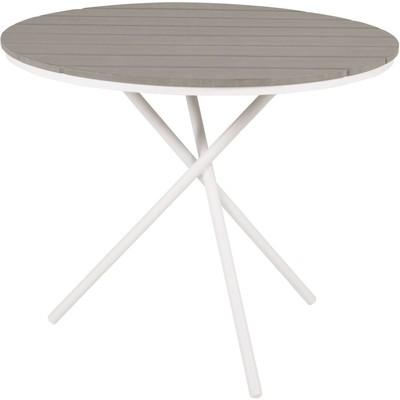 Ebbarp cafébord – vit/grå