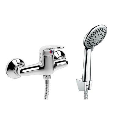 Funkia Duschblandare med duschset - Krom