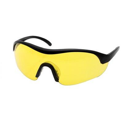 Skyddsglasögon med gult glas