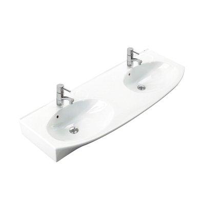 Ifö Caprice tvättställ 129,5 cm 2162 Vit