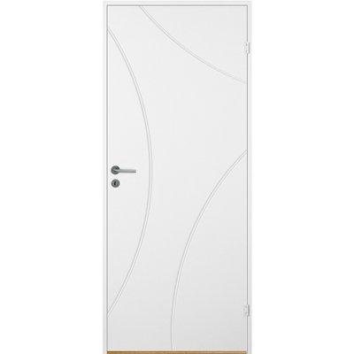 Innerdörr Bornholm - Kompakt dörrblad med radiefräst dekor A10