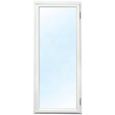 Fönsterdörr - Helglasad 3-glas - Aluminium - U-värde: 1,1