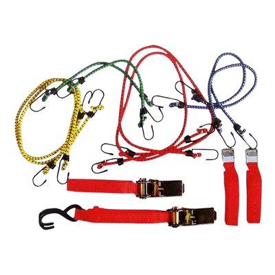 Spännband- & bagagestroppset