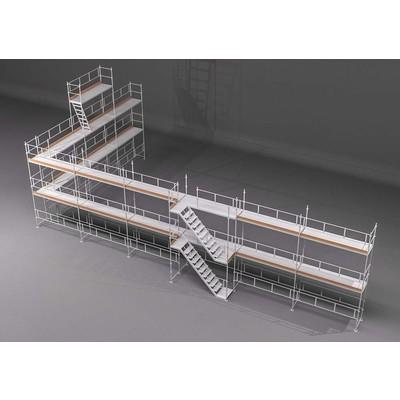 Byggnadsställning Ram 182m2 - Stål