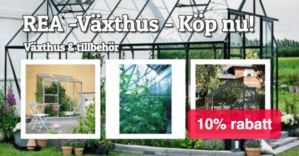 Växthus & tillbehör 10% på allt