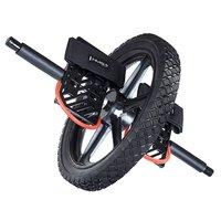 Träningshjul med fotstöd