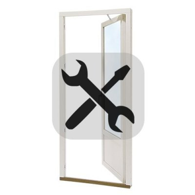 Installation fönsterdörr utan ROT-avdrag