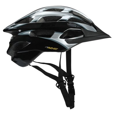 Cykelhjälm senior svart & grå