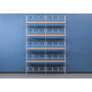 Byggnadsställning HAKI Ram 6x10 m - Aluminium