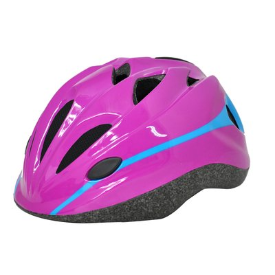 Cykelhjälm junior Cool, rosa