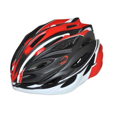 Cykelhjälm Bennett svart & röd