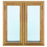 2-glasfönster Trä utåtgående - 2-Luft - Omålat - U-värde 1.3