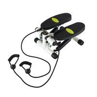 Stepmaskin - Med träningsband & träningsdator (svart-vit S3038)