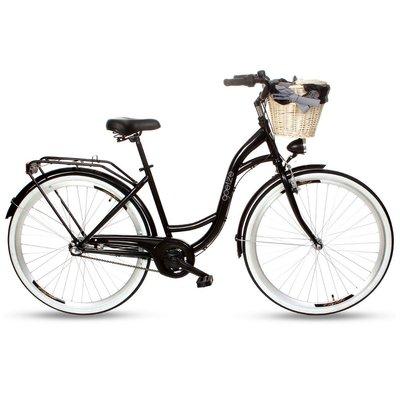 "Cykel Colours 28\\\"" - 3 växlar - svart II"
