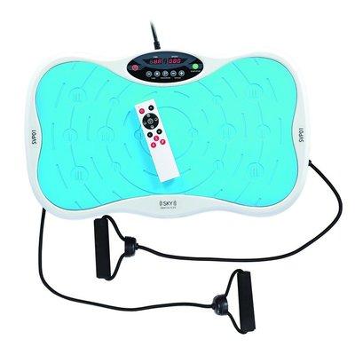Vibrationsplatta SVP01 - blå-vit