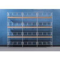 Byggnadsställning HAKI Ram 9x8 m - Aluminium