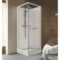 Duschkabin Komplett - utåtgående dörr - Classic II