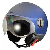 Hjälm för motorcykel - blå
