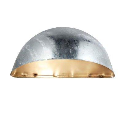 Stimmen Vägglampa - Galvaniserad metall