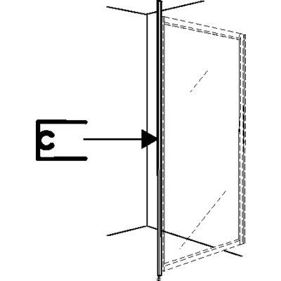 Ifö Solid golv- och takstöd SVGT