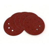 Sandpapper cirkelslip 125 mm 5st - Olika grovlekar