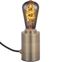 Bordslampa med kabel