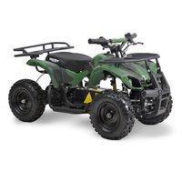 Grön fyrhjuling för barn