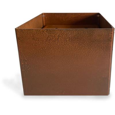 Cortenstål kruka kvadrat - 40x40x40 cm