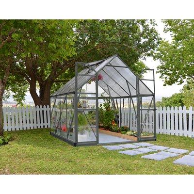 Växthus Balance Grå - 8,8 m²