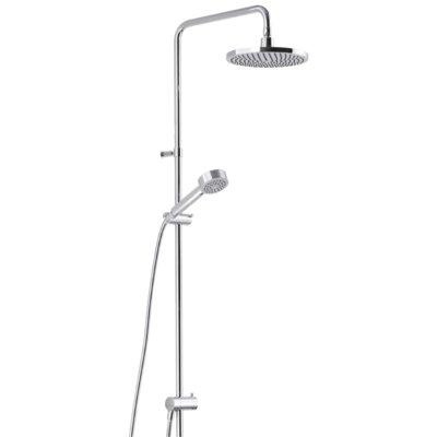 Mora Rexx Shower System S5 - Med tak- och handdusch - Krom