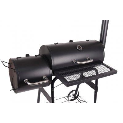 Kolgrill / Grilltunna med rökare