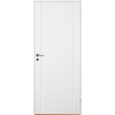 Innerdörr Bornholm - Kompakt dörrblad med spårfräst dekor A5
