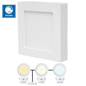 Square LED spotlight - 900lm