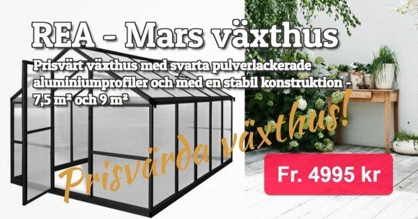 Mars växthus - Kampanjpriser
