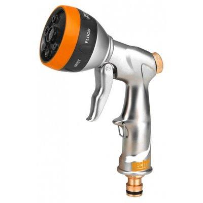 Sprutpistol i aluminium med justerbart munstycke