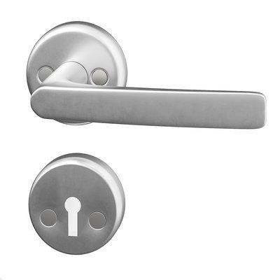 Dörrhandtag innerdörr - Aluminium Flat