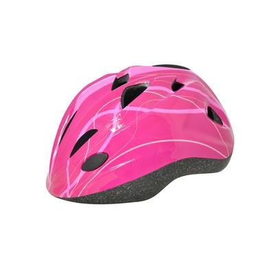 Cykelhjälm Cool Full Pink